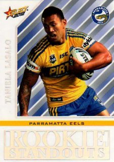 2012 NRL Champions Rookie Standouts #RS15 Taniela Lasalo Eels