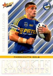 2012 NRL Champions Rookie Standouts #RS16 Mitchell Allgood Eels