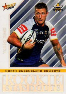 2012 NRL Champions Rookie Standouts #RS13 Tariq Sims Cowboys