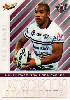 2012 NRL Champions Rookie Standouts #RS9 Will Hopoate Sea Eagles
