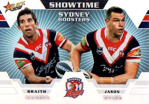 2012 NRL Champions Showtime #ST14 Anasta / Ryles Roosters