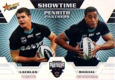 2012 NRL Champions Showtime #ST11 Coote / Jennings Panthers