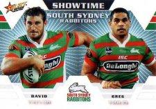 2012 NRL Champions Showtime #ST13 Taylor / Inglis Rabbitohs