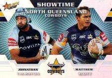 2012 NRL Champions Showtime #ST9 Thurston / Scott Cowboys