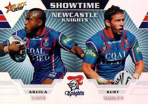 2012 NRL Champions Showtime #ST8 Uate / Gidley Knights