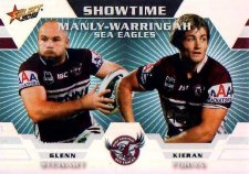 2012 NRL Champions Showtime #ST6 G.Stewart / Foran Sea Eagles