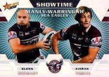 2012 NRL Champions Showtime #ST6 G.Stewart / Foran Sea Eagles