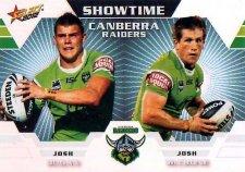 2012 NRL Champions Showtime #ST2 Dugan / McCrone Raiders
