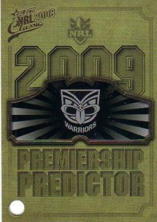 2009 NRL Classic Redeemed Predictor