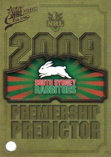 2009 NRL Classic Rabbitohs with Redeemed Predictor