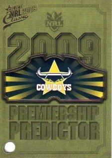 2009 NRL Classic Cowboys Redeemed Predictor