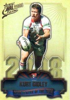 2009 NRL Classic CPOTY #CP8 Kurt Gidley Knights
