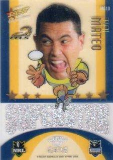 2009 NRL Champions Mascot Gem #MG10 Feliti Mateo Eels