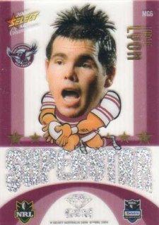 2009 NRL Champions Mascot Gem #MG6 Jamie Lyon Sea Eagles