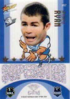 2009 NRL Champions Mascot Gem #MG2 Andrew Ryan Bulldogs