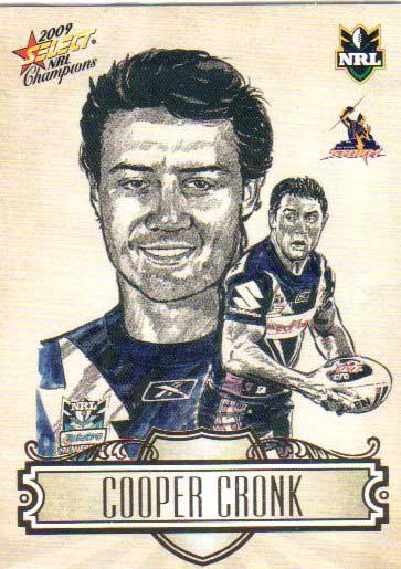 2009 NRL Champions Sketch #SK14 Cooper Cronk Storm