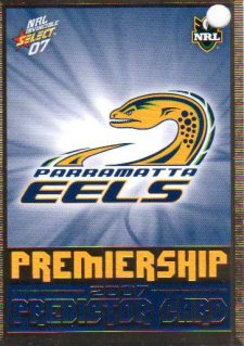 2007 NRL Invincible Eels Redeemed Predictor