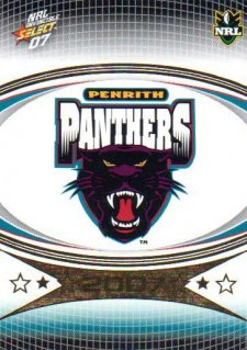 2007 NRL Invincible Common #124 Panthers Logo