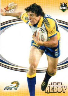 2007 NRL Invincible Common #123 Joel Reddy Eels