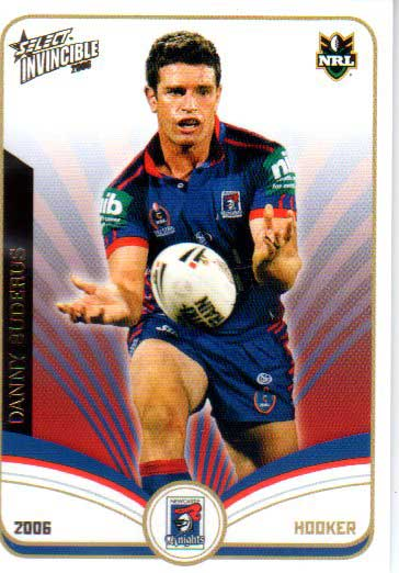 2006 NRL Invincible Common #79 Danny Buderas Knights
