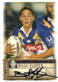 2003 XL Future Force FF35 Billy Slater Storm #123/570