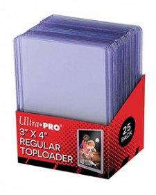 ULTRA PRO Top Loader – 3 x 4 Regular Clear (35pt)