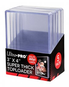 ULTRA PRO Top Loader – 3 x 4 Clear (360pt)