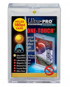 ULTRA PRO Specialty Holders – 180PT – UV One Touch w/Magnetic Closure