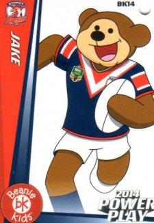 2014 NRL Power Play Beenie Kids Bag Tag BK14 Sydney Roosters