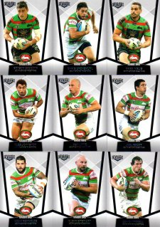 2015 NRL Elite 10-Card Base Team Set South Sydney Rabbitohs