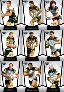 2015 NRL Elite 10-Card Base Team Set North Queensland Cowboys