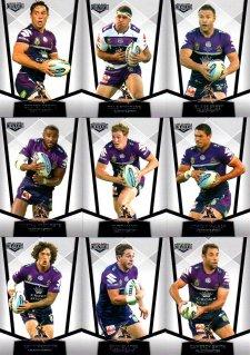 2015 NRL Elite 10-Card Base Team Set Melbourne Storm