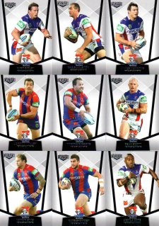 2015 NRL Elite 10-Card Base Team Set Newcastle Knights