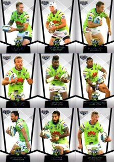 2015 NRL Elite 10-Card Base Team Set Canberra Raiders