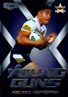 2015 NRL Elite Young Guns #YG18 Kelepi Tanginoa Cowboys