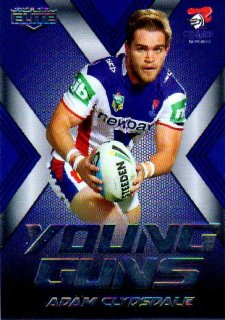 2015 NRL Elite Young Guns #YG16 Adam Clydsdale Knights