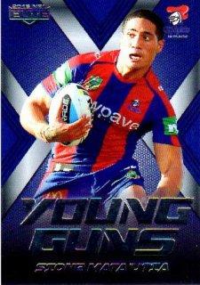 2015 NRL Elite Young Guns #YG15 Sione Mata'utia Knights