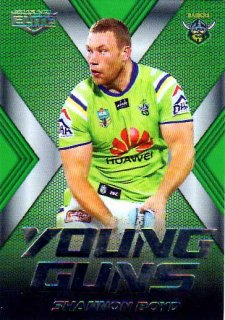 2015 NRL Elite Young Guns #YG4 Shannon Boyd Raiders