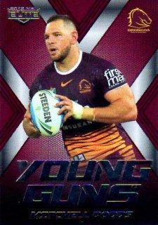 2015 NRL Elite Young Guns #YG2 Mitchell Dodds Broncos