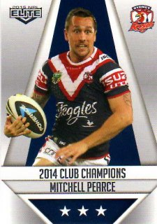 2015 NRL Elite Club Champions #CC27 Mitchell Pearce Roosters