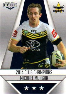 2015 NRL Elite Club Champions #CC18 Michael Morgan Cowboys
