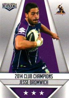 2015 NRL Elite Club Champions #CC13 Jesse Bromwich Storm