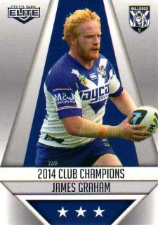 2015 NRL Elite Club Champions #CC5 James Graham Bulldogs