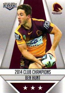 2015 NRL Elite Club Champions #CC1 Ben Hunt Broncos