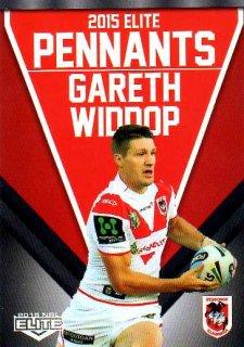 2015 NRL Elite Pennants #EP65 Gareth Widdop Dragons