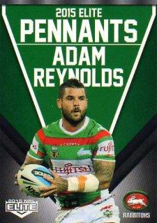 2015 NRL Elite Pennants #EP59 Adam Reynolds Rabbitohs
