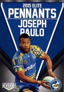 2015 NRL Elite Pennants #EP49 Joseph Paulo Eels