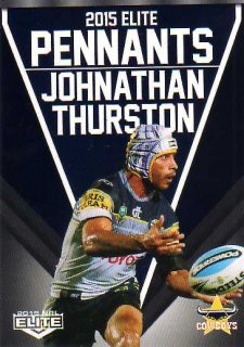 2015 NRL Elite Pennants #EP45 Johnathan Thurston Cowboys