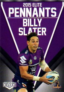2015 NRL Elite Pennants #EP34 Billy Slater Storm
