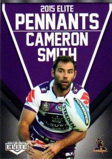 2015 NRL Elite Pennants #EP35 Cameron Smith Storm